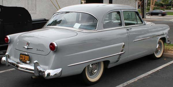 1953 ford customline 2 door sedan for How much to paint a car door