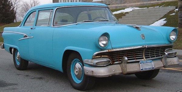 1956 Ford Mainline Tudor Sedan
